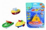legetøjsbåde - wind up boats - Bade Og Strandlegetøj