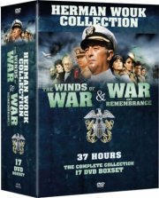 winds of war & war and rembrence boks - herman wouk collection - DVD