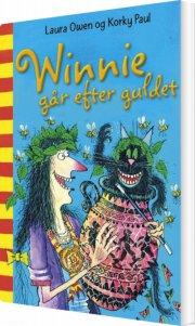 winnie går efter guldet - bog