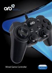 playstation 3 controller med kabel - orb - Konsoller Og Tilbehør
