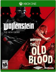 wolfenstein double pack - the new order and the old blood - xbox one