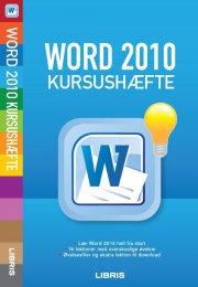 word 2010 kursushæfte - bog