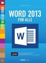 word 2013 for alle - bog