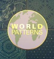 malebog for voksne - world patterns - Kreativitet