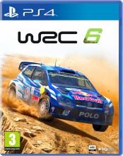 wrc 6: world rally championship - PS4