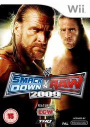 Image of   Wwe Smackdown Vs. Raw 2009 - Wii