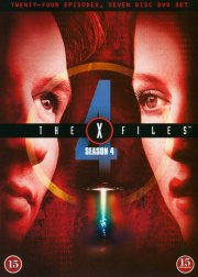 the x-files - sæson 4 - DVD