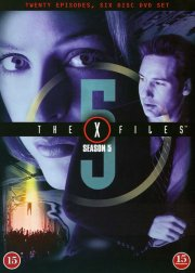 the x-files - sæson 5 - DVD