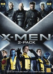x-men - first class + days of future past - DVD
