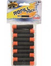 x-power refill pile - 20 stk. - Legetøjsvåben