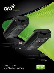 microsoft xbox 360 - oplader / dual charge - Konsoller Og Tilbehør