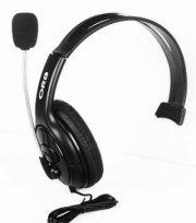 orb xbox 360 elite chat headset - black 555 - Konsoller Og Tilbehør