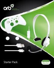 orb xbox one s starter pack med hvide chat høretelefoner - Konsoller Og Tilbehør