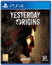 yesterdays origins - PS4
