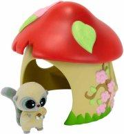 yoohoo & friends lege sæt - svampehytte - Figurer