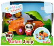 yoohoo og friends legetøj - safari jeep - Figurer
