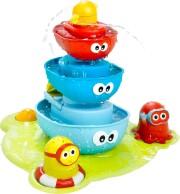 badelegetøj - yookidoo stack n spray springvand - Bade Og Strandlegetøj