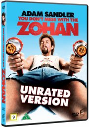 you don't mess with the zohan - unrated version - DVD