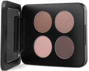 youngblood pressed mineral eyeshadow quad - timeless - Makeup