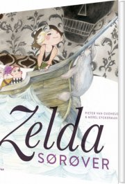 zelda sørøver - bog