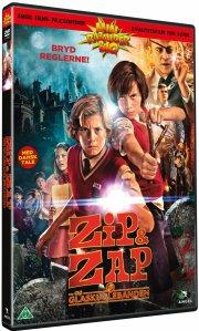 zipi y zape y la isla del capitán / zip & zap og glaskuglebanden - DVD
