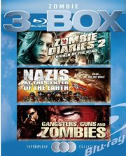 world of the dead // nazis at the center of the earth // gangsters, guns and zombies - Blu-Ray