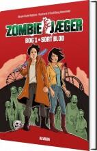 zombie-jæger 1: sort blod - bog