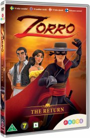 zorro the chronicles - sæson 1 - vol 1 - hjemkomsten - DVD