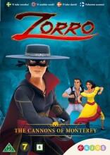 zorro the chronicles - sæson 1 - vol 2 - kanonerne fra monterey - DVD