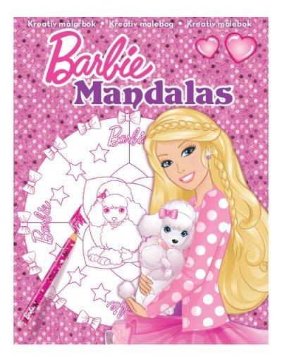 Smuk Barbie Mandalas Malebog - Hund → Køb billigt her SM-93