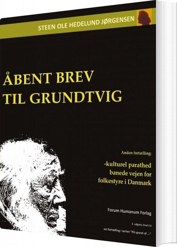 Image of   åbent Brev Til Grundtvig - Steen Ole Hedelund Jørgensen - Bog