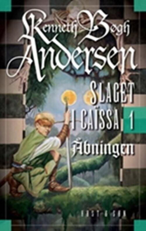 Image of   åbningen - Kenneth Bøgh Andersen - Bog