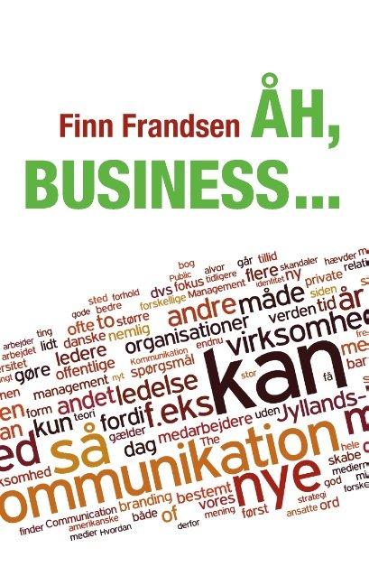 Image of   åh, Business - Finn Frandsen - Bog