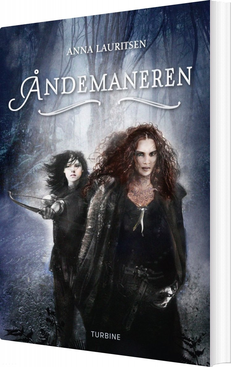 Image of   åndemaneren - Anna Lauritsen - Bog