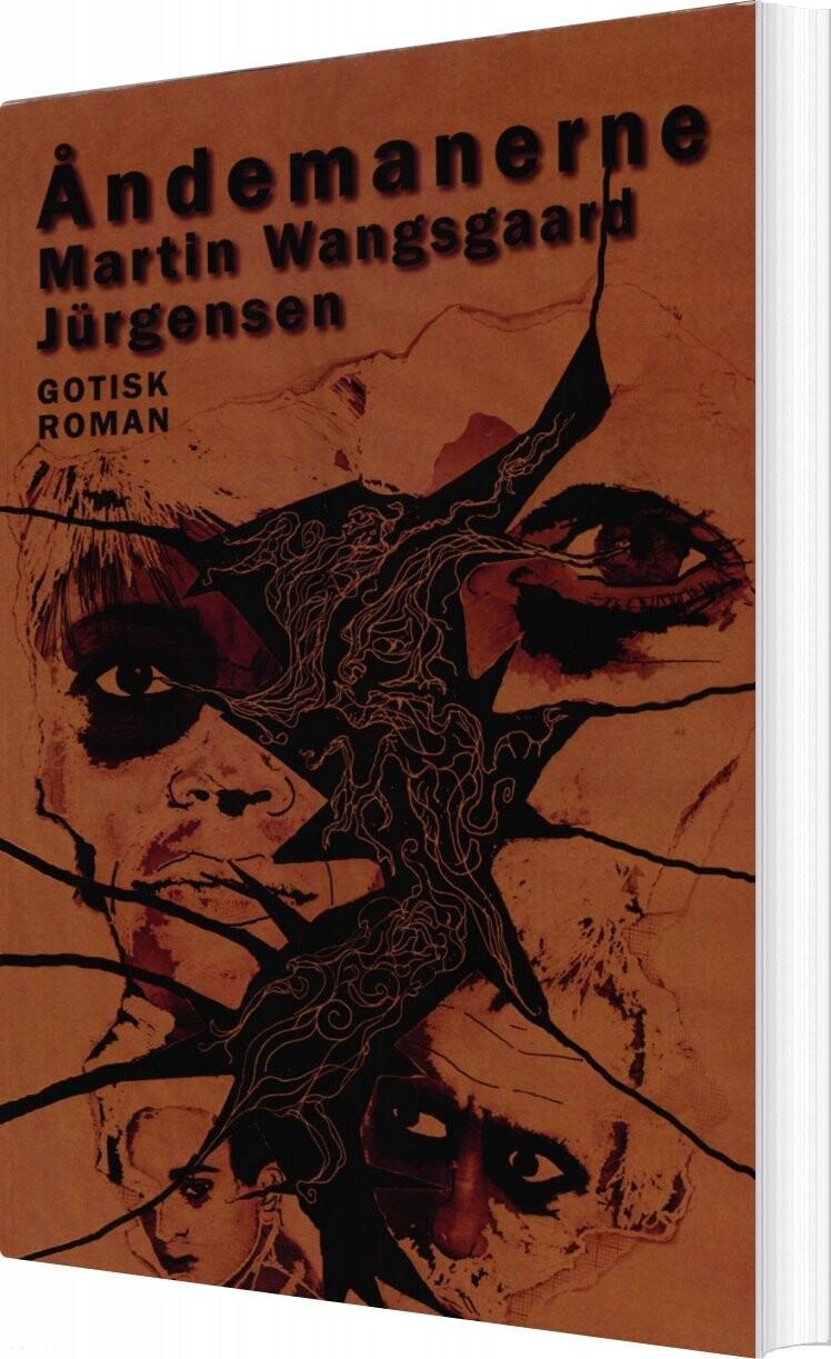 Image of   åndemanerne - Martin Wangsgaard Jürgensen - Bog