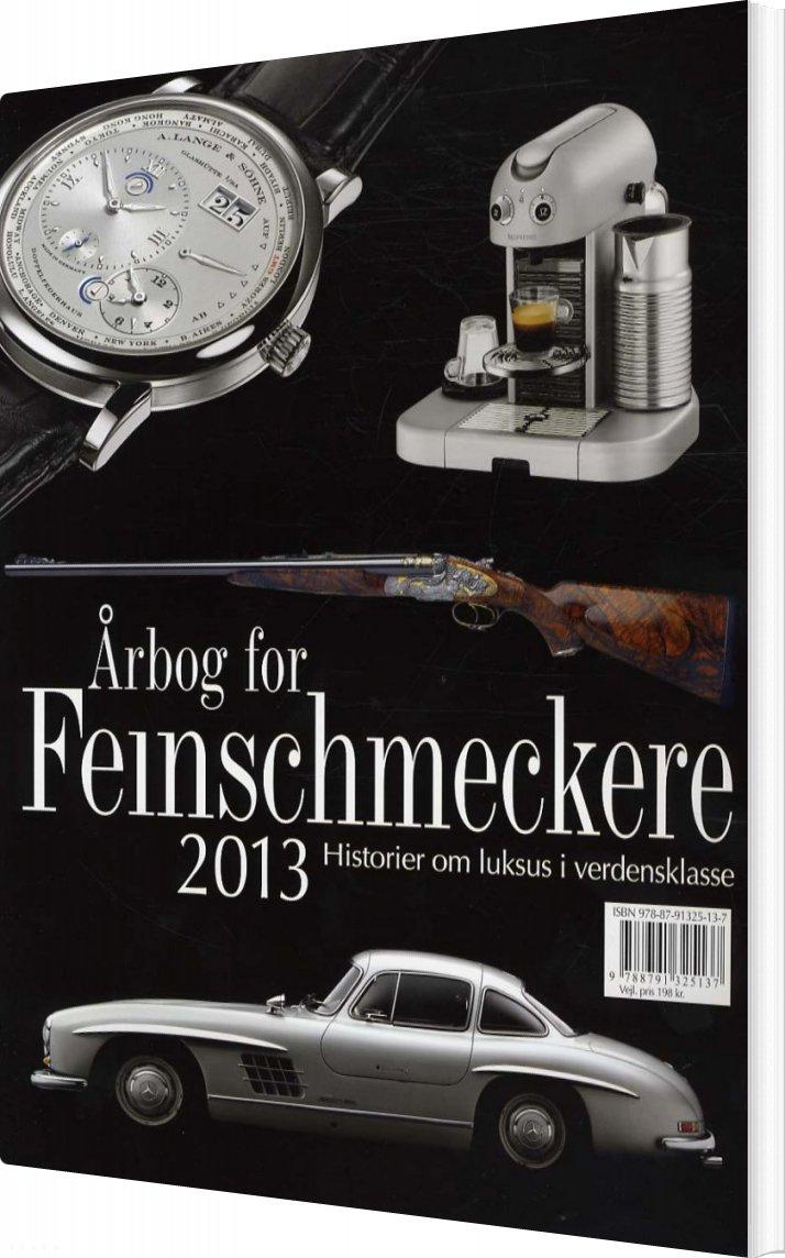 Image of   årbog For Feinschmeckere 2013 - Jesper Rovsing Olsen - Bog