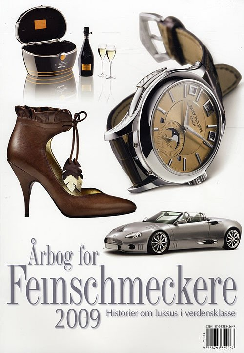 Image of   årbog For Feinschmeckere - Jesper Rovsing Olsen - Bog