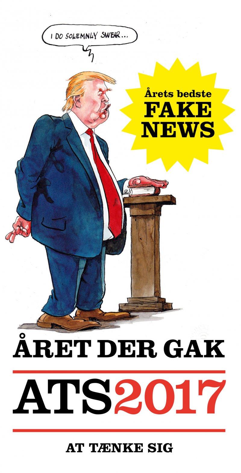 året Der Gak - Ats 2017 - Gorm Vølver - Bog