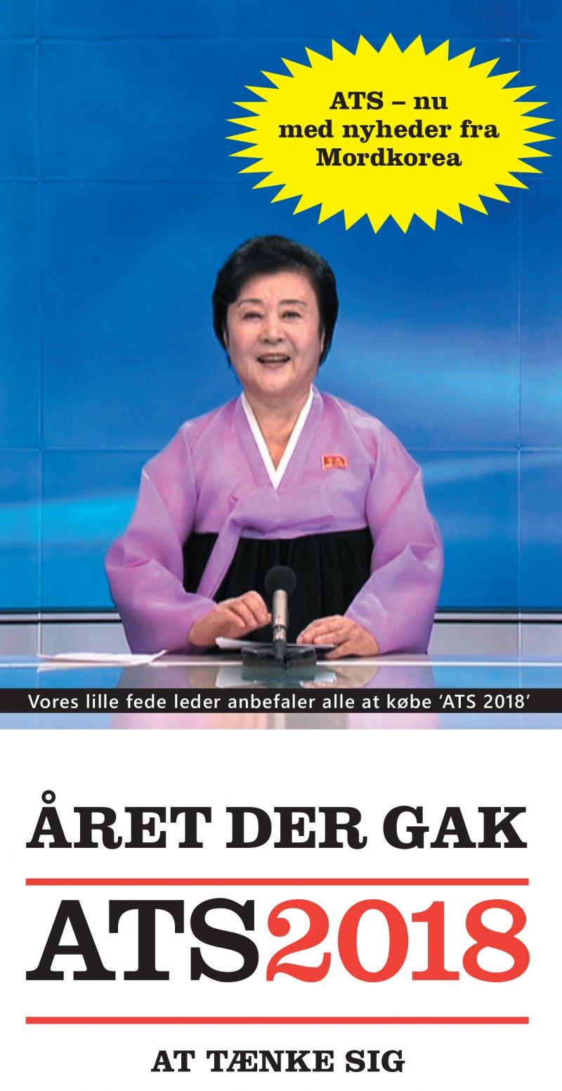 Image of   året Der Gak - Ats 2018 - Gorm Vølver - Bog