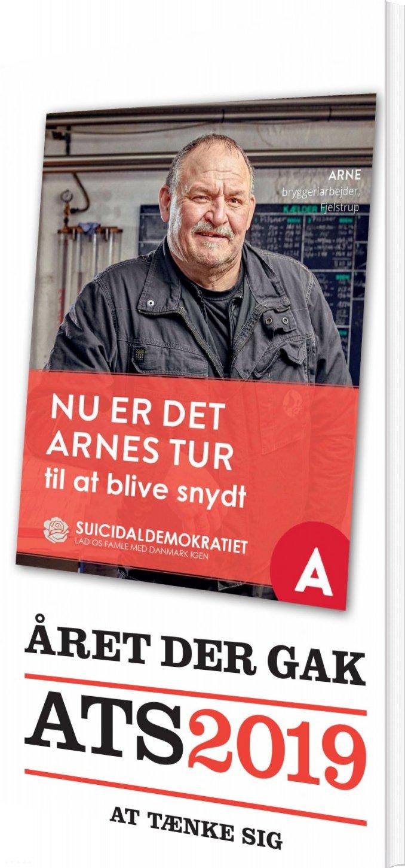 Image of   året Der Gak - Ats 2019 - Gorm Vølver - Bog