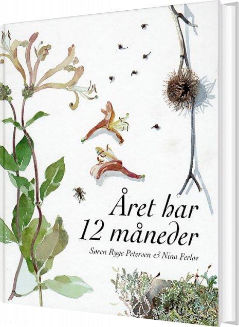 Image of   året Har 12 Måneder - Søren Ryge Petersen - Bog