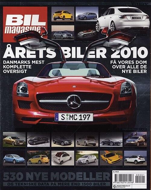 Image of   årets Biler 2010 - Bil Magasinet - Bog