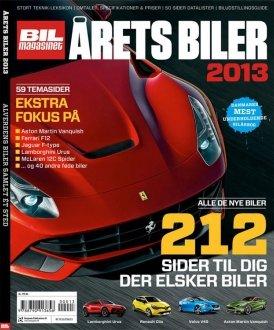 Image of   årets Biler 2013 - Bil Magasinet - Bog