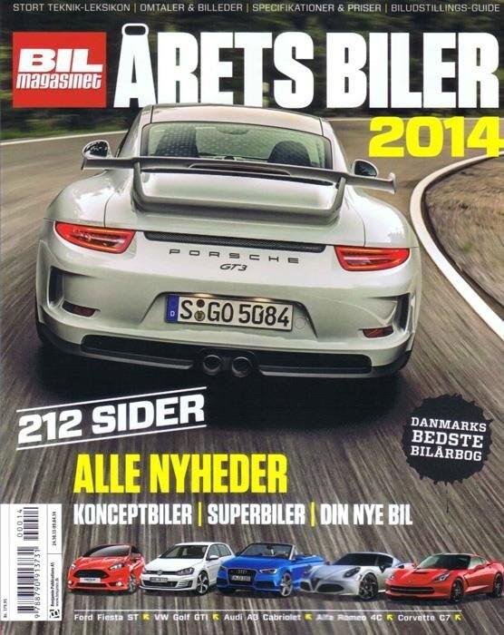 Billede af årets Biler 2014 - Carsten Nymann - Bog