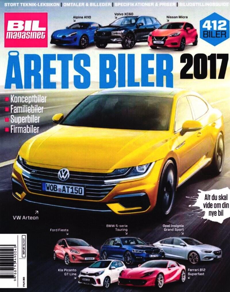 Image of   årets Biler 2017 - Bil Magasinet - Bog