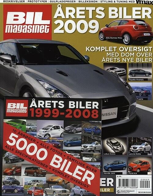 Image of   årets Biler 2009 - Bil Magasinet - Bog