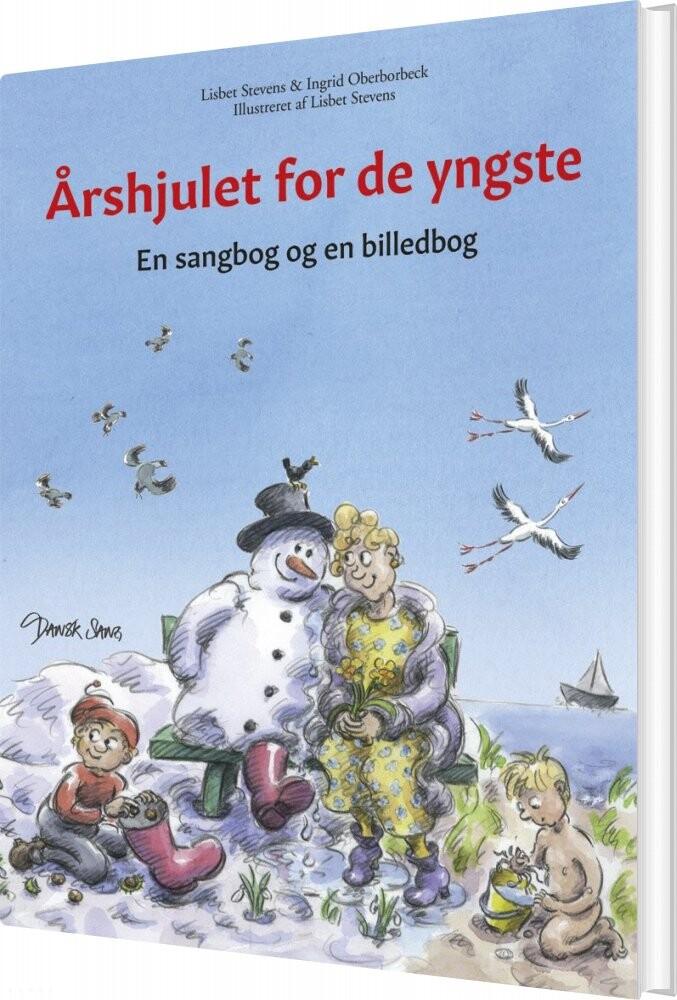 Image of   årshjulet For De Yngste - Ingrid Oberborbeck - Lisbet Stevens - Bog