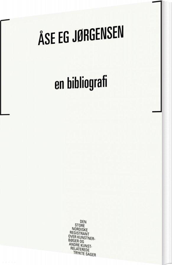 Image of   åse Eg Jørgensen - Mathias Kokholm - Bog
