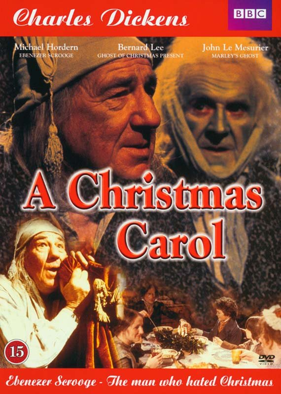 Image of   A Christmas Carol - Charles Dickens - DVD - Film