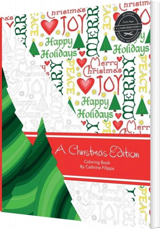 Billede af A Christmas Edition - Coloring Book - Cathrine Filippa - Bog